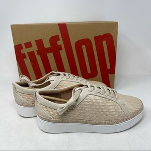 FitFlop Classic Rally Basket Weave Sneakers 7.5